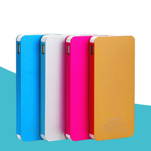 2017 latest 8000mAh Ultra-thin polymer mobile power with free sample for wholesale