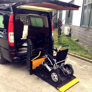Xinder WL-D wheelchair accessible of vertical platform lift for private vehicles with CE certificate