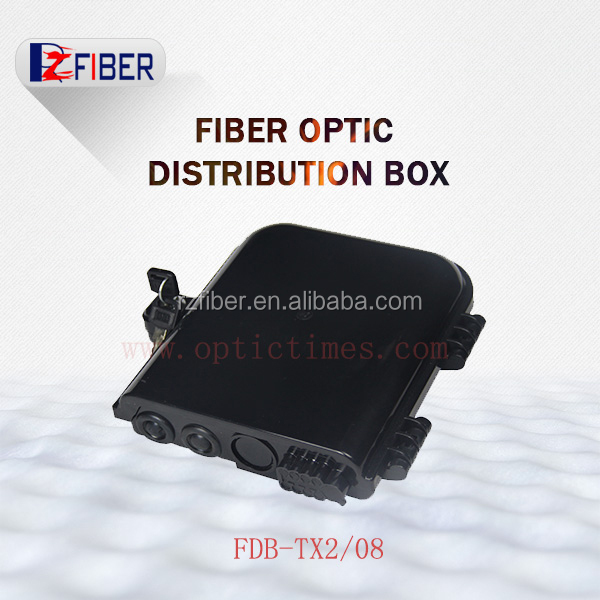 Outdoor Waterproof Odf 8 Core Fiber Optic Termination Box