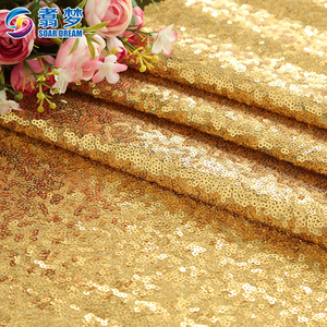 Glory glory luxury color sequin fabric gold