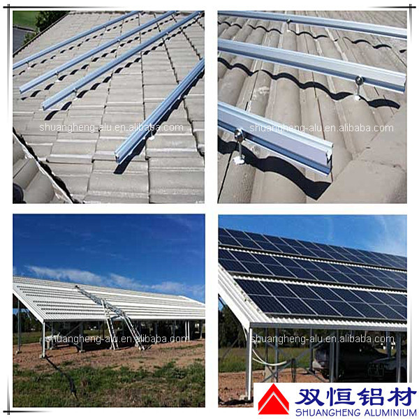 Aluminum Solar Panel Pv Mounting System For Ground