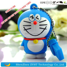 Doraemon USB Flash Drive Disk 64MB 128MB 512MB 1GB 2GB 4GB 8GB 16GB 32GB CE U-disk Rohs USB Drives Wholesales Cheap USB Flash