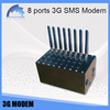 8 multi sim bulk sms modem connect with pc uc15 moudle 3g send sms machine