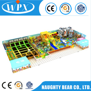 New design good quality aviation theme indoor playground equipment for kids