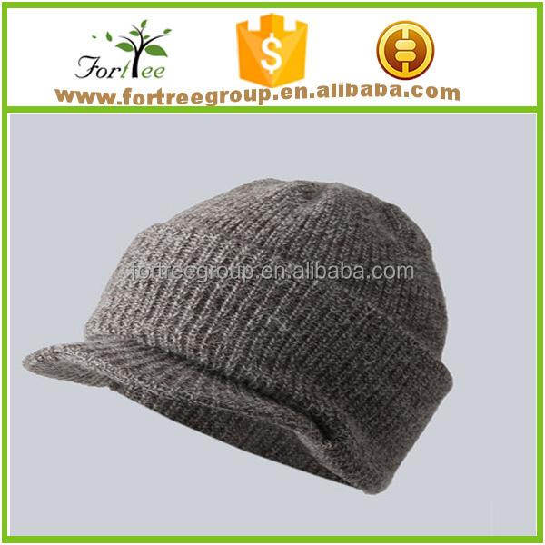 98e2999b9a5 China winter knit brim beanie cap wholesale 🇨🇳 - Alibaba