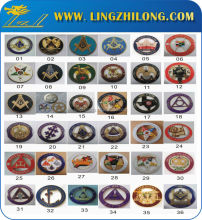 Custom various freemason auto car emblems ,luxury masonic round car emblem