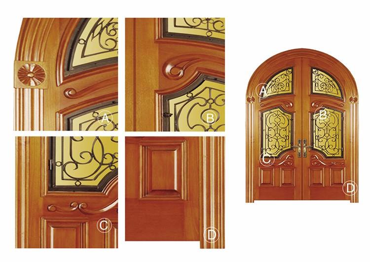 Estilo australiano de madera puerta de arco de medio punto - Arcos de madera para puertas ...