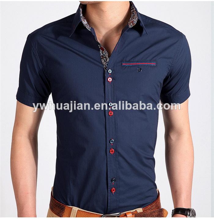 27b02a86d мужская случайных рубашки мужские рубашки с коротким рукавом рубашка  подходит тонкая рубашка мужская бесплатная доставка 919