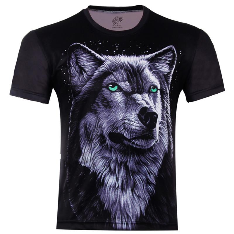 The Wolf Totem Animal 3D Print Children T Shirt New