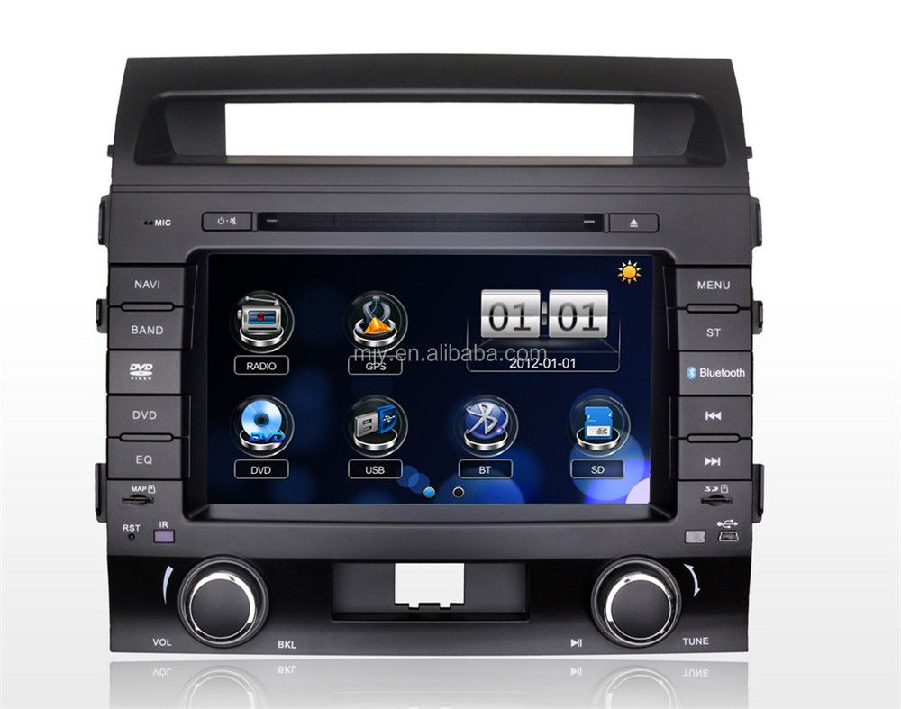 8inch touch screen car gps player for TOYOTA Land cruiser 2010 car gps navigator with bluetooth car dvd gps navigation system