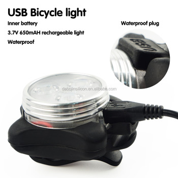 2017 Hot Sale Ultra Bright Waterproof LED Front Bike Light SET Rear Bicycle/Cycling Safety Warning