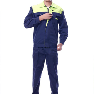 Most popular customize anti-winkle polyester,cotton coverall work wear uniform