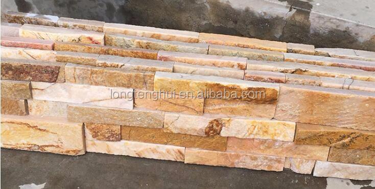 mejor precio de fbrica de china fachada de piedra natural para la casa moderna de la