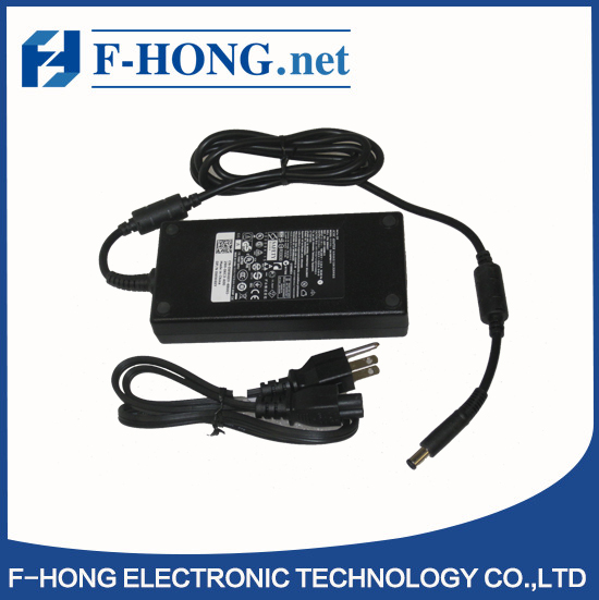 Model: DA180PM111 Laptop AC Adapter Charger w/ Power Cord 180W for Dell Alienware M14x M15x M17x R3 M17x R4 WW4XY