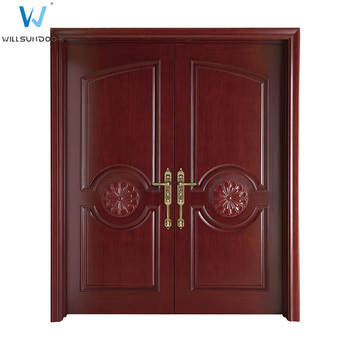 Awesome Sunmica Wood Design Home Main Double Door Models