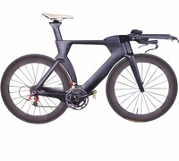 Hidden brake Di2 Carbon Triathlon&Time Trial&TT Bike Frame TT Carbon Frameset