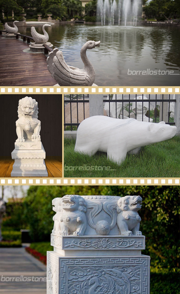 Life size marble lion statue for sale