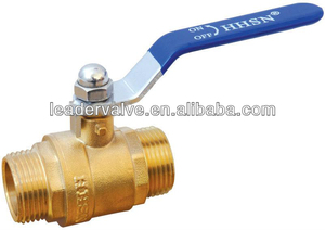 Forged Brass handle operated ball valve
