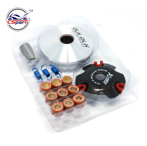 High Performance CVT Clutch DLH ClVariator Kit with Roller Weights Drive Pulley for GY6 125cc 150cc 157QMJ Scooter Moped