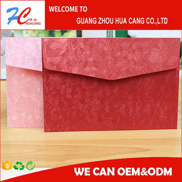 OEM Wedding Invitation Paper Envelope Handmade Envelopes Decorative