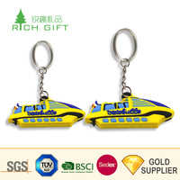 Pretty decorative custom soft pvc rubber 3D brand sneaker shoe keychains with different sizes