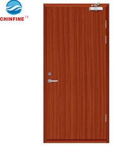 BM Trada Q Mark Wooden fire door with BS certificate (CF-WF03)