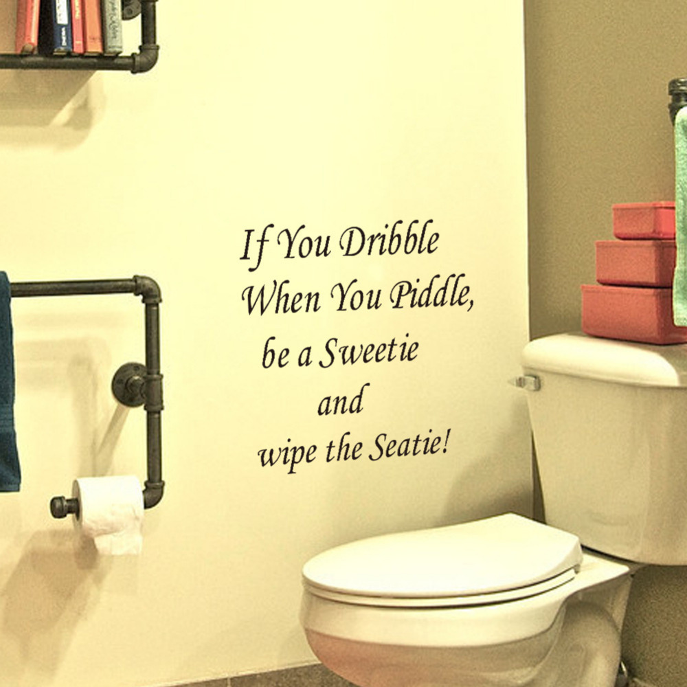 Swell Toilet Wall Decor Largest Home Design Picture Inspirations Pitcheantrous
