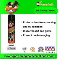 China OEM Manufacturer Quickly Car Tire Foaming Polish Tyre Shine