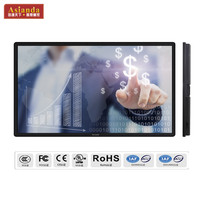 Cheap double channel multi touch 32 40 42 55 65 inch screen whiteboard pc tv all in one led wall washer