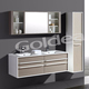 two drawers; MFC cabinet with Blum slider;best buffering;hot selling Bath vanity;resin basin; china supplier;PB Melamine