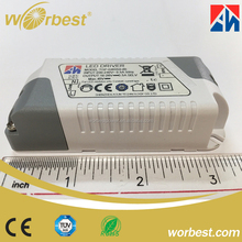 12W led driver with PFC function/moso driver for led street light/15w 20v power supplies