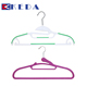 High quality cheap multi function pink velvet skirt dress pant hanger