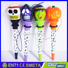 multi function halloween promotional gift pop out pen