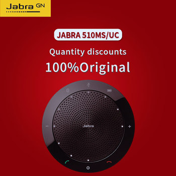20d3a667e27 Jabra Speak 510 MS/UC for Business USB & Bluetooth Speakerphone Microsoft  Omnidirectional microphone hands