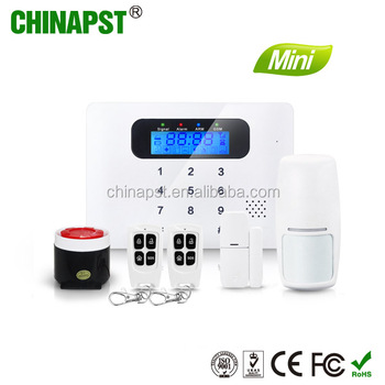 2017 Promotional App Controlled Android+ios App Quad-band Contact Id  Security Wireless Gsm Alarm Monitoring Receiver Pst-g30c - Buy Gsm Alarm
