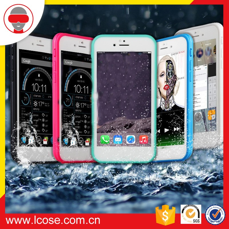 2016 Ultra Thin Slim Fit Protective TPU Waterproof Case for Iphone 7/7plus
