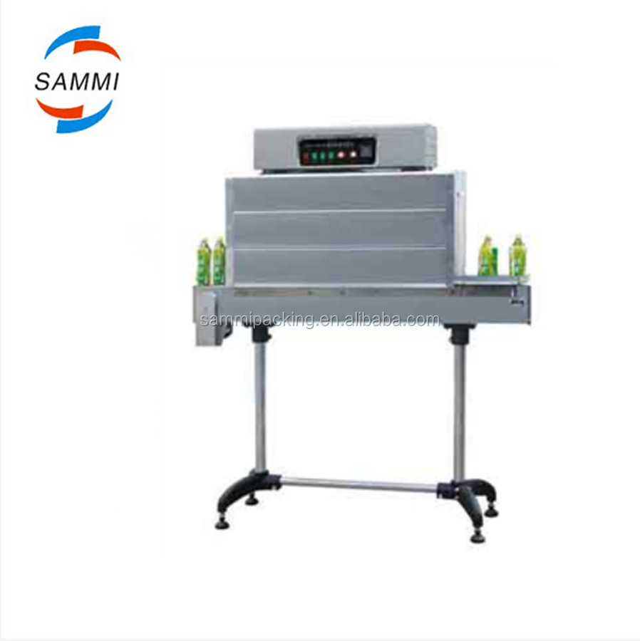 Low price Shrink band sleeve machine/heat shrink tunnel for plastic films on the lid of bottle