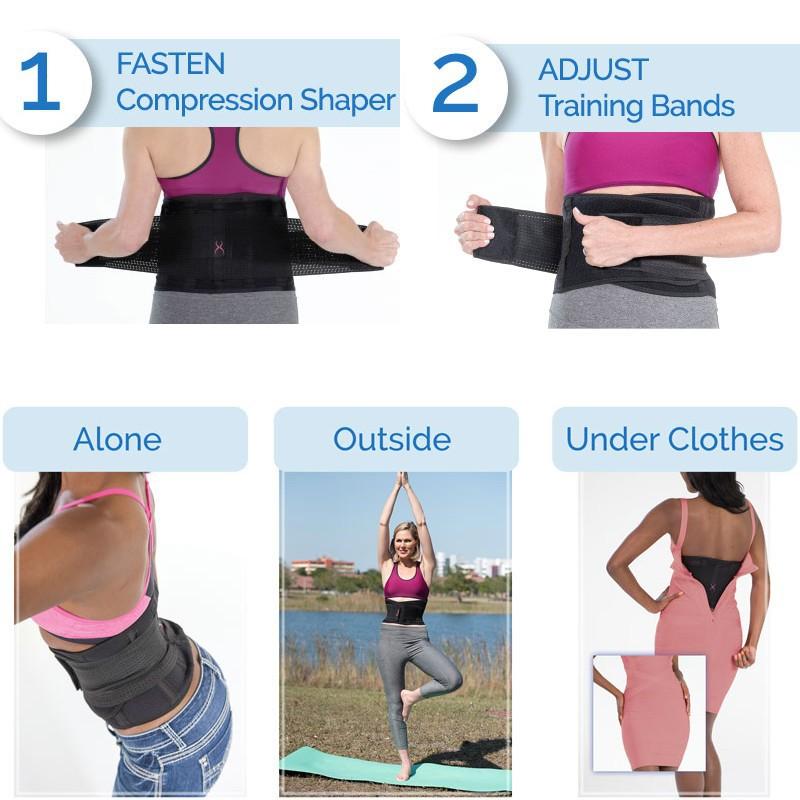 bdb384b5e8 2019 Waist Trainer Miss Belt Corset Slimming Underwear Waist ...