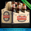 OEM production custom paper six beer bottle holder
