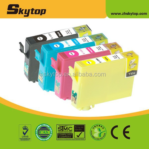 Compatible Epson ink cartridge T1261 T1262 T1263 T1264 for stylus NX330/430 Workforce 520/60/435/545/630/633