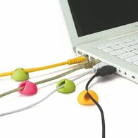 Multi-purpose Cable Drop Clip Holder For Laptop Notebook PC Cable crocodile hair clip