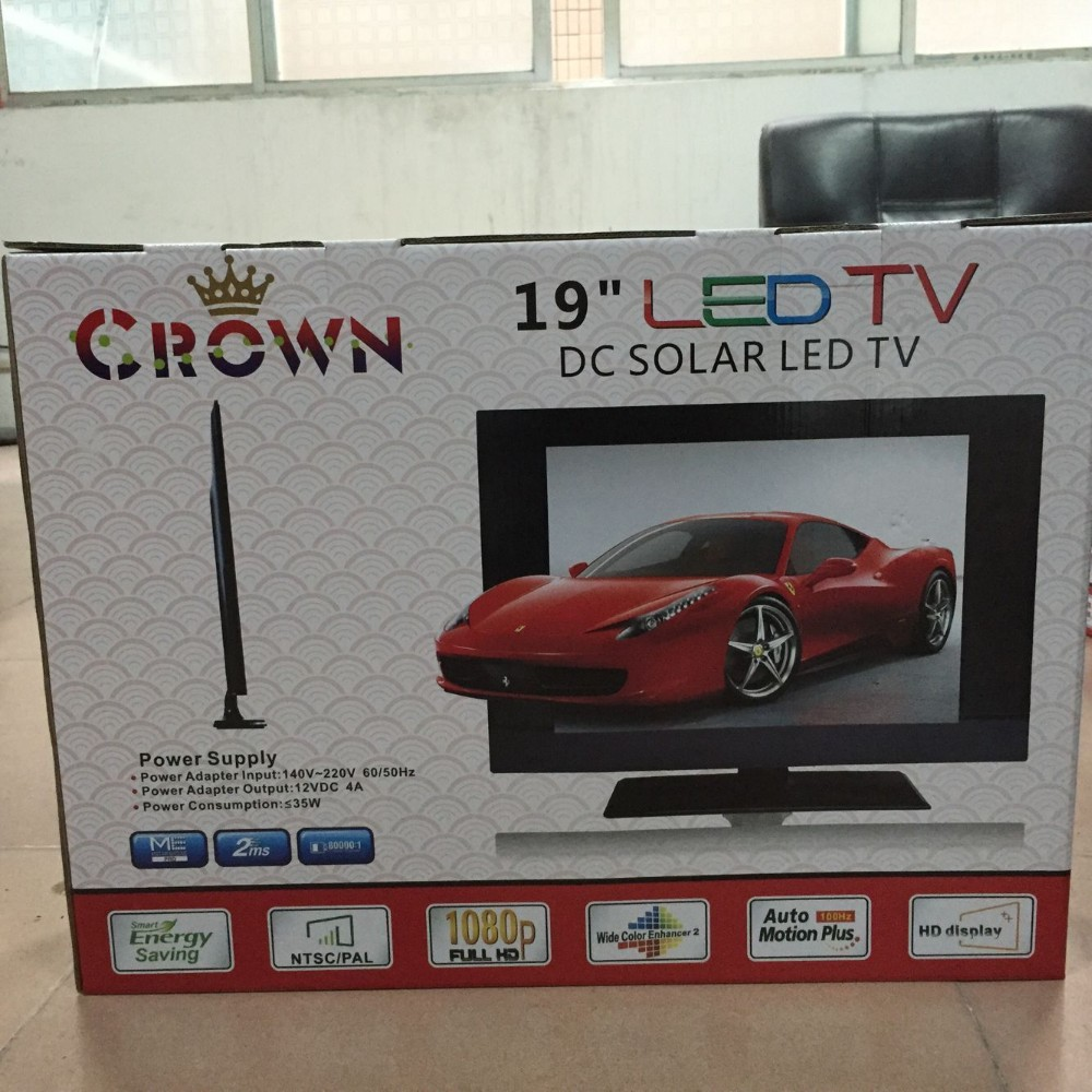 15 inch dc 12v solar tv with 15w power consumption 15 dc 12v solar powered led tv with low - Led tv power consumption ...