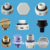 Waterproof Vent Plug Breather Vent Plugs M12*1.5 LED Light Breather vent plug IP68 IP68 plastic air vent plug plastic waterproof