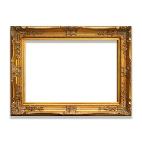 Shenzhen Factory Large Classical Baroque Ornate Canvas Painting Frame