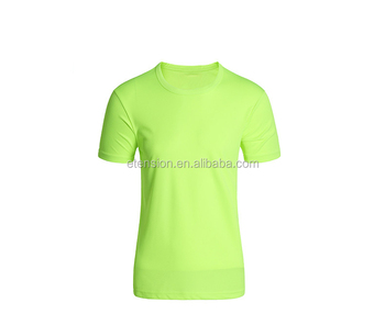 100% Polyester Wholesale Blank White T-shirts Plain