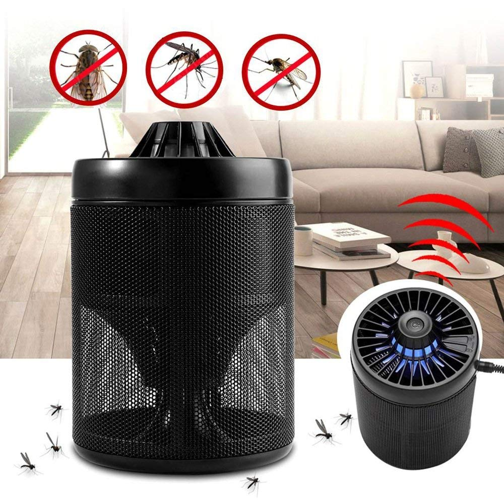 Shelfhx Smart LED USB Charge Mosquito lamp Fly Bug Insect Trap Killer Lamp Zapper Light Pest Control Lighting Desktop Mosquito Repeller