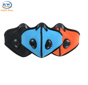 Dust Mask Filter Hiking Activated Carbon n95 Dust Mask Neoprene Ski Sport Half Face Masks