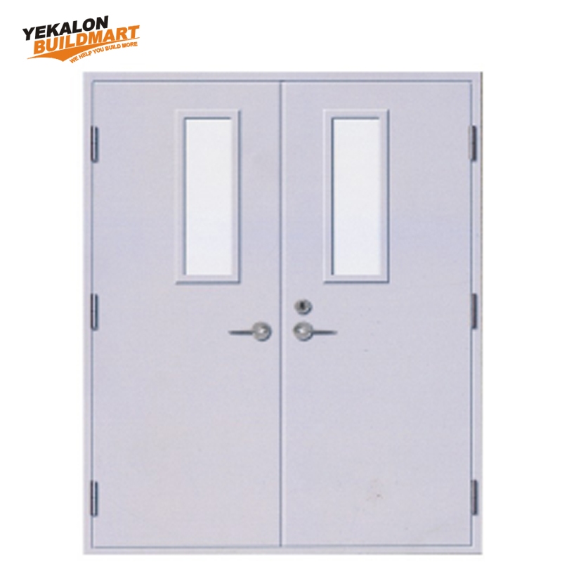 EN UL BS Certificate Security Steel Fire Resistant Door 60/90/120min Fireproof Door