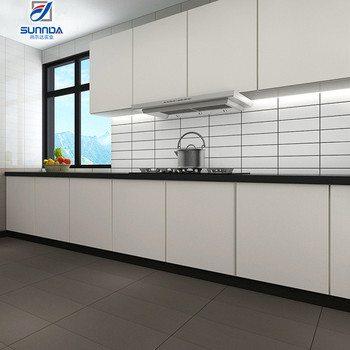 Decorative Kitchen And Bathroom Glossy White Glazed Wall Tiles ...