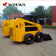garden skid steer attachments loader with excavator,grapple bucket,hammer